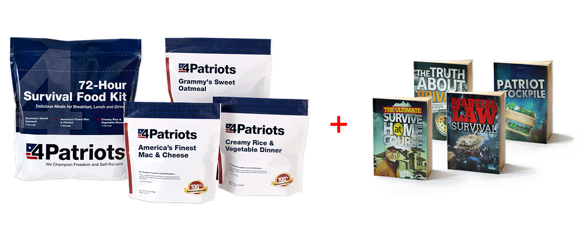 Patriot Survival Plan Book Offer