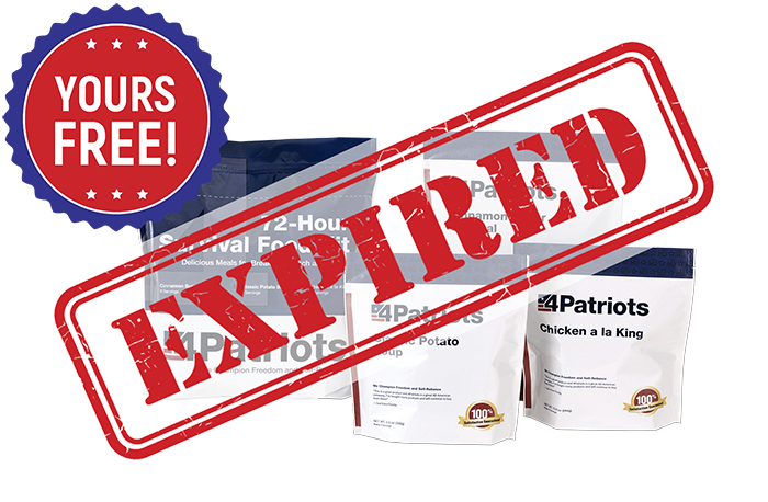 Food4Patriots 1 Year Kit