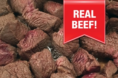 12 servings of freeze dried beef