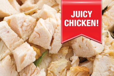12 servings of freeze dried chicken